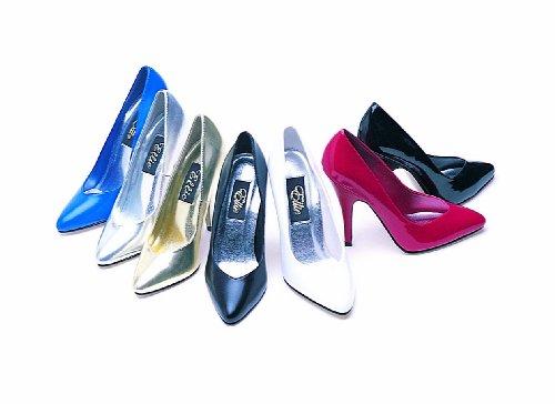 Ellie Shoes Womens 8220 Dress Pump,8 B(M) US,Gold