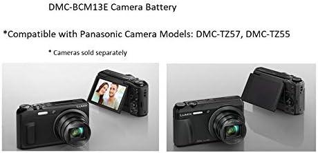 Siehe Beschreibung f/ür die Kompatibilit/ät 3,6v // 1250mAh Dot.Foto Qualit/ätsakku f/ür Panasonic DMW-BCM13,DMW-BCM13E Garantie 2 Jahre
