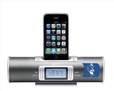 NCAA Duke Blue Devils XiDoc iPod Docking Station/Clock Radio from Kraftware