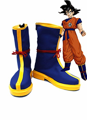 Telacos Dragon Ball Anime Monkey King Son Goku Kakarot Cosplay Shoes Boots Custom Made -