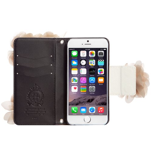 Mr.H Mademoiselle Special Leather Type Diary case for iPhone 6 Plus