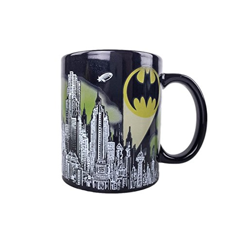Batman Skyline Color Changing Mug - Loot Crate Exclusive -