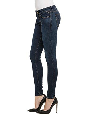 Skinny Bleu 7 Luz Jeans Blue Femme Replay Denim wHEzI