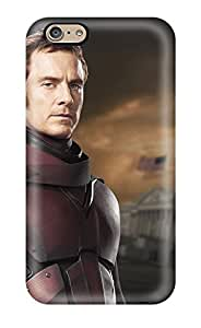 Iphone 6 Young Magneto Played By Michael Fassbender Print High Quality Tpu Gel Frame Case Cover