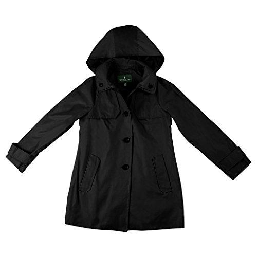 Double Collar Raincoat - 5