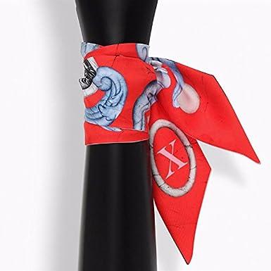 Mystery Constellation Narrow Neckerchief Handbag Hair Head Neck Hat Scarf for Women Paris Brand Design