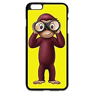 Curious George Perfect-Fit Case Cover For Apple Iphone 6 Plus 5.5 Inch Cute Cover