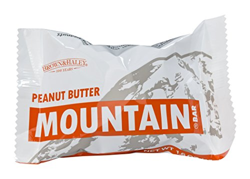Brown & Haley Toffee (1.6 oz PEANUT BUTTER MOUNTAIN BAR - Case of 15 Bars)