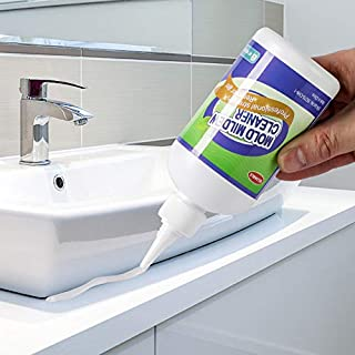 GELIVABLE Mold and Mildew Remover Cleaning Gel Household Cleaner for Wall Tiles Grout Sealant Bathroom Cleaning Home Kitchen Sinks Cleaning - 8 Fl.Oz