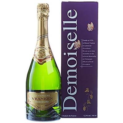 Champagne Vranken Demoiselle – E.O. Tête De Cuvée – 75 Cl – Sous Étui