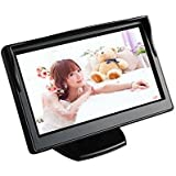"BW 5"" High Resolution HD 800480 (no 320240) Car TFT LCD Monitor Screen with 2ch Video for Car Rearview Backup Cameras/Car DVD/VCD/GPS/other Video Equipment"