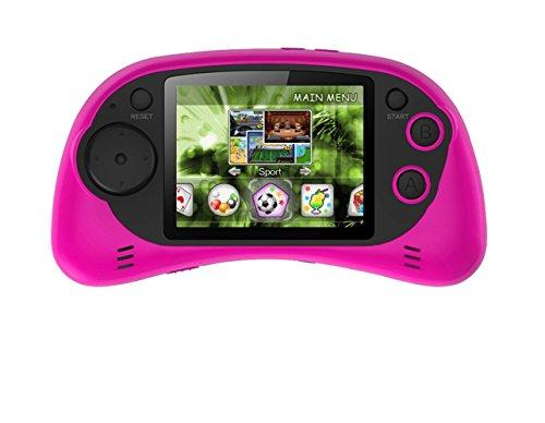 "Handheld Portable Digital Screen 200 Preloaded Games , 2.7"" Color Display PINK"