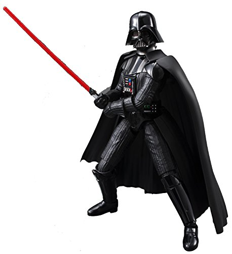 Bandai Hobby Star Wars Character Line 1/12 Darth Vader Star Wars Model Kits (Wars Hobby Star Kit)