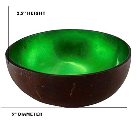 Black Little Seeds World Buyers Natural Coconut Bowl 5 Dia X 2.5 H