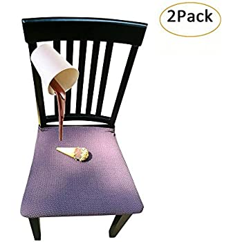 Amazon Com Waterproof Dining Chair Cover Protector Pack