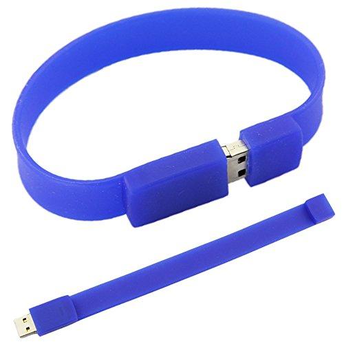 Fashion Silicone Bracelet Flash Memory