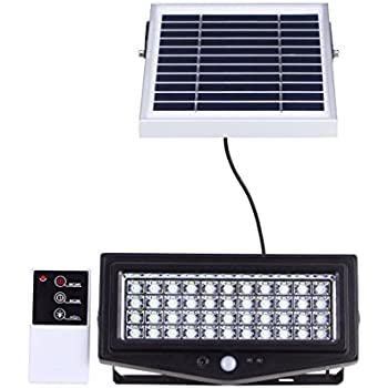 Remote Control Security Lights Outdoors Solar security light 44 led outdoor indoor floodlight with motion solar security light 44 led outdoor indoor floodlight with motion sensor and remote control 1000 workwithnaturefo