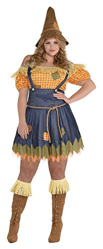 Sultry Scarecrow Womens Plus Size Costume