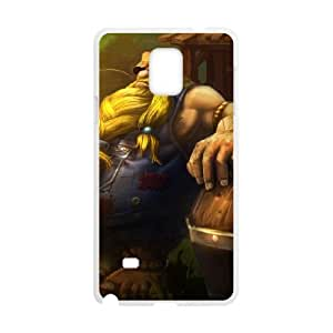 Samsung Galaxy Note 4 Cell Phone Case White League of Legends Hillbilly Gragas Ffdew