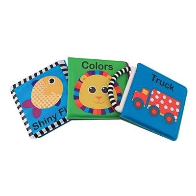 Sassy 3 Pack born Developmental Book Set by Sassy