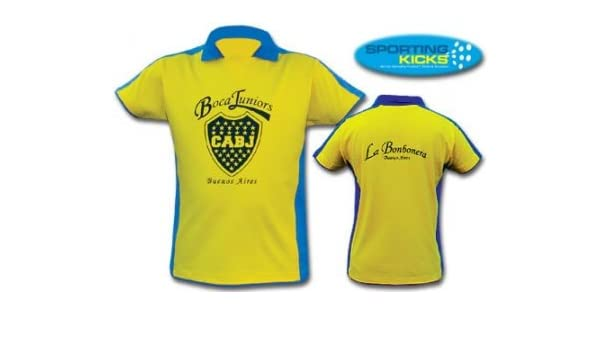 low priced e4a06 81668 Amazon.com : Argentina Boca Juniors T-Shirt : Sports Fan T ...