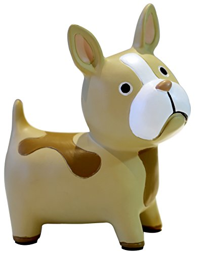 Eastyle Dog Bank French Bulldog Piggy Banks For Kids Birthday Christmas Gift (Brown) ()