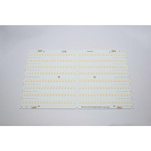 Horticulture Lighting Group HLG 550 Full-Spectrum Veg/Flower 510W Quantum Board Dimmable Plant LED Grow Light (3000K Spectrum, 120V plug)
