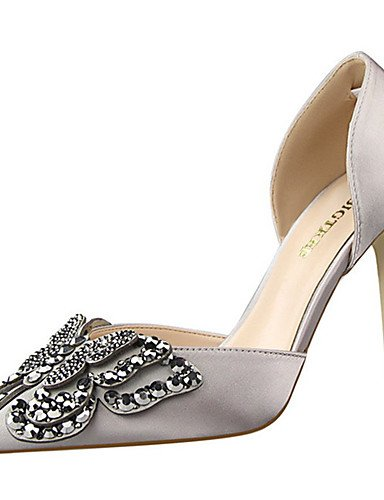 Seda Casual Rosa Stiletto gray Tac¨®n cn39 light Desnudo light cn39 uk6 de uk3 gray Tacones Negro eu39 eu36 mujer uk6 Rojo Zapatos eu39 Gris us8 us5 5 us8 cn35 5 green Tacones ZQ vIx08q
