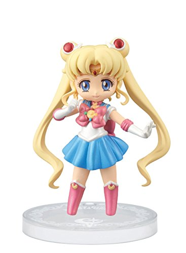 Banpresto Sailor Moon 2.4-Inch Crystal Collectable Figure for Girls Sailor Moon Figure, Volume 1