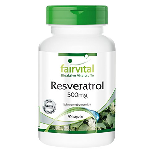 Resveratrol 500mg 90 Kapseln