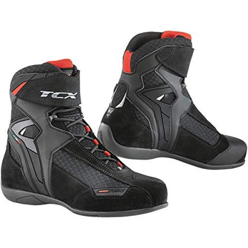 TCX Vibe Air Adult Street Motorcycle Boots - Black/Eu 47 / Us 12.5