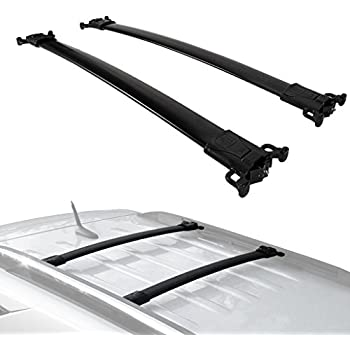 Amazon.com: ROLA 59786 Removable Mount REX Series Roof Rack for Chevrolet Equinox, GMC Terrain w ...