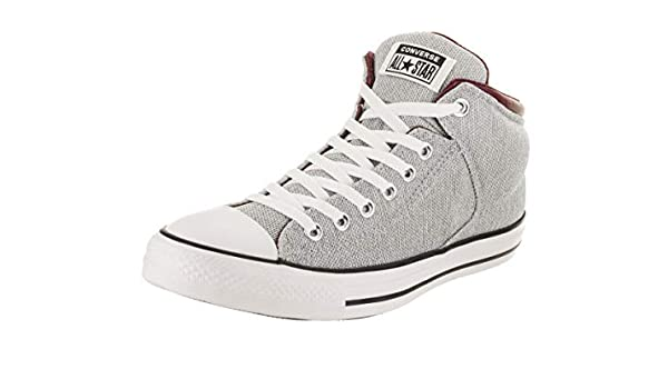 45125218b30b0c Amazon.com  Converse Chuck Taylor All Star High Street High Top Sneaker  White Dark Burgundy