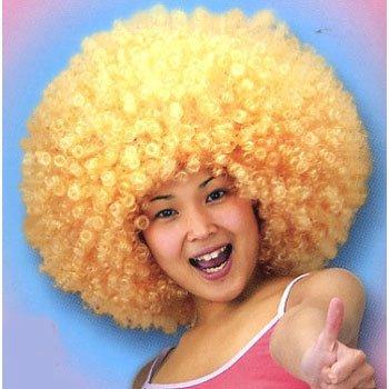 MAX Big Bang Afro wig (Gold) (Gold Afro Wig)