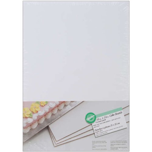 Wilton Cake Boards: 10x14 Rectangle, 6/Pkg.