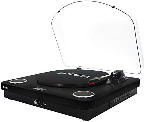 Aiwa gbtur-120bk - Tocadiscos Color Negro, Bluetooth, 3 ...