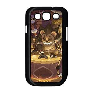 Popular And Durable Designed TPU Case With zack & wiki quest for barbaros' treasure Samsung Galaxy S3 9300 Cell Phone Case Black