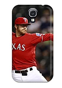 texas rangers MLB Sports & Colleges best Samsung Galaxy S4 cases 5597737K434768008