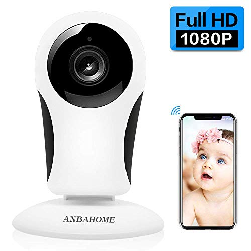 ANBAHOME IP Camera, 1080P WiFi Camera Wireless Security Cam for Home Surveillance Pet and Baby Monitor with Night Vision Two Way Audio Support 128G SD Card Review