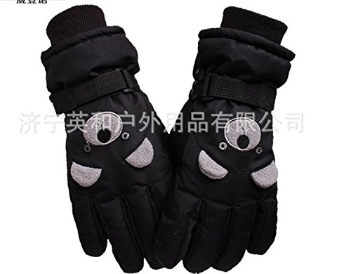 COFFLED Waterproof outdoor Ski & Snow Gloves, Windproof Skiing, Snowboarding, Shredding, Shoveling & Snowballs Toddler Mittens for 4-6 Years Shell & Reinforced Palm