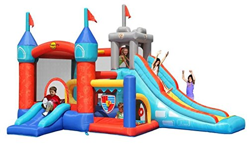 13 in 1 Medieval Knights Bouncy Castle - Rideontoys4u