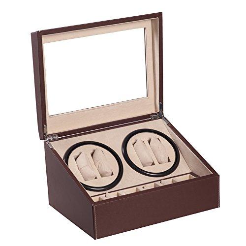 4-6-brown-leather-quad-watch-winder-automatic-rotation-storage-display-jewelry-box-case-organizers