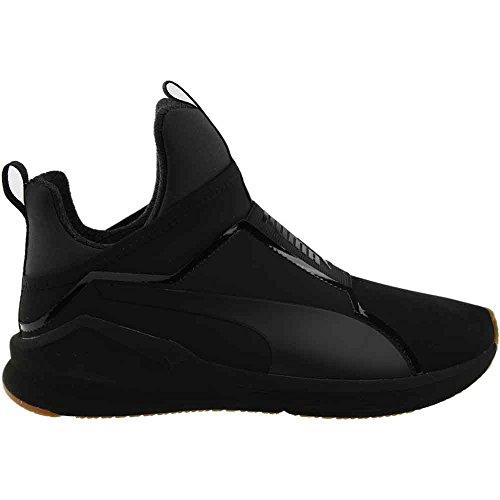 Puma Women Fierce Nubuck Naturals Training Sneakers Shoes, Puma Black, 9 B(M) US