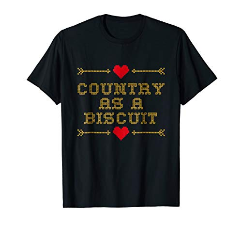 (Country as a Biscuit summer t-shirt)