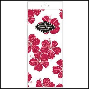 (Hibiscus Chic Red Tissue Paper)
