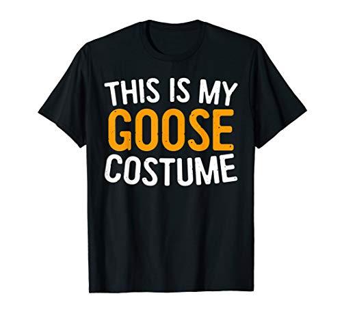 This Is My Goose Costume T-Shirt Halloween Gift Shirt -