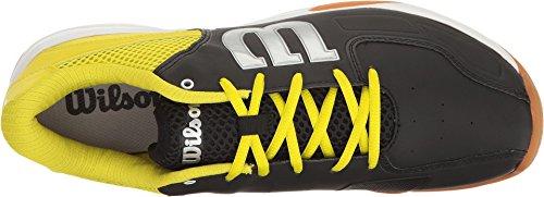 Wilson jaune Indoor fluo Unisex noir Recon Synthetik Badmintonschuhe HrBHw4Tq