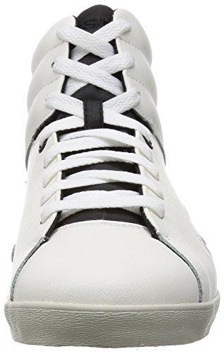 Diesel Herren Weiß E-Klubb Hi Sneakers