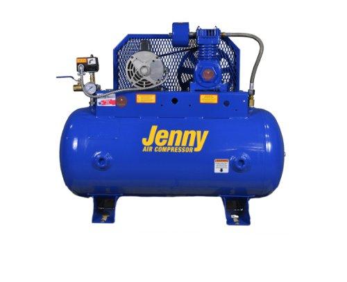 Jenny Compressors F12C-30C-115/1 1/2-HP 30-Gallon Tank 1 Phase 115-Volt, Single-Stage Simplex Electric Climate Control Compressor