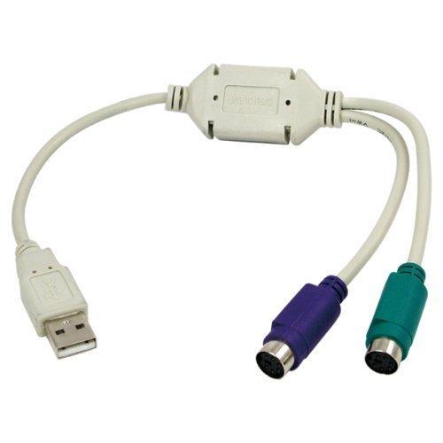 Adaptateur de câble de convertisseur USB vers PS2 pour souris et clavier pour PC Shopeefy Store Ltd